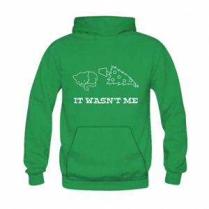 Kid's hoodie It wasn't me
