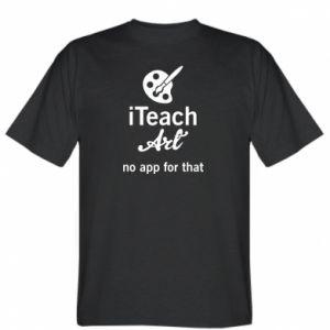 T-shirt iTeach art