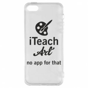 Etui na iPhone 5/5S/SE iTeach art