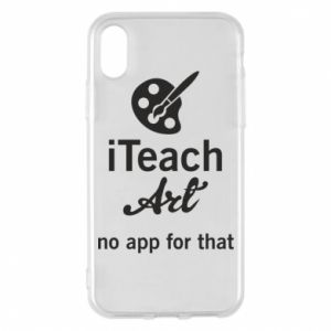 Etui na iPhone X/Xs iTeach art
