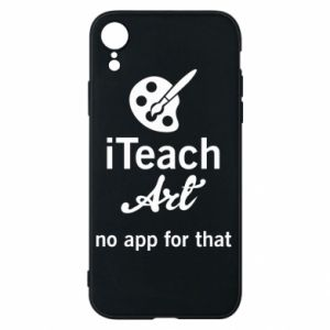 Etui na iPhone XR iTeach art