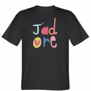 Koszulka męska J'adore