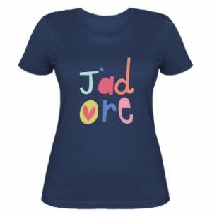 Koszulka damska J'adore