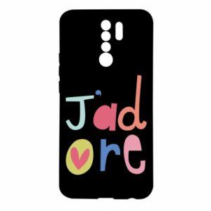 Etui na Xiaomi Redmi 9 J'adore