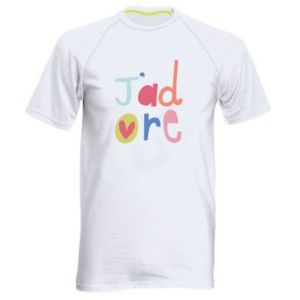 Koszulka sportowa męska J'adore