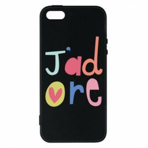 Etui na iPhone 5/5S/SE J'adore