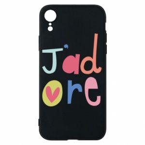 Etui na iPhone XR J'adore
