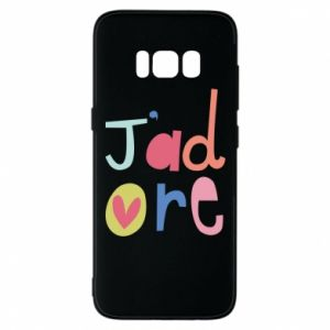 Etui na Samsung S8 J'adore
