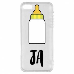 Etui na iPhone 5/5S/SE Ja i butelkę mleka