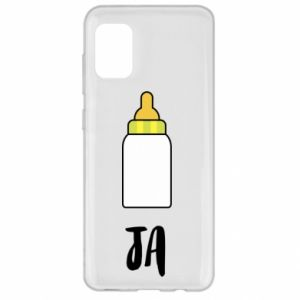 Etui na Samsung A31 Ja i butelkę mleka