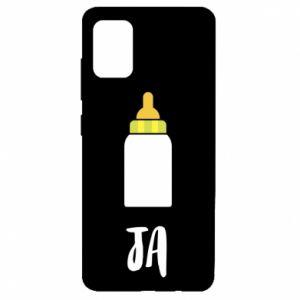 Etui na Samsung A51 Ja i butelkę mleka