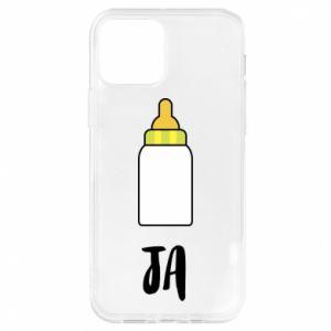 Etui na iPhone 12/12 Pro Ja i butelkę mleka