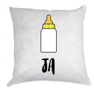 Poduszka Ja i butelkę mleka