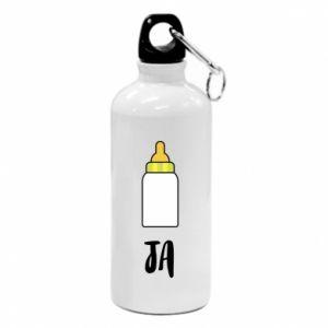 Bidon turystyczny Ja i butelkę mleka