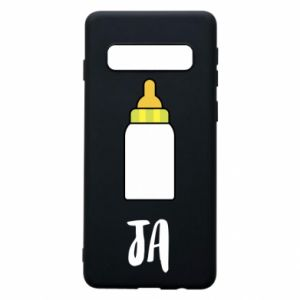 Phone case for Samsung S10 I and a bottle of milk