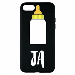 Etui na iPhone 7 Ja i butelkę mleka