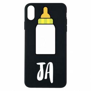 Etui na iPhone Xs Max Ja i butelkę mleka
