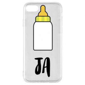 Etui na iPhone 8 Ja i butelkę mleka