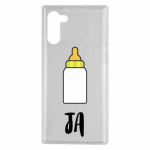 Etui na Samsung Note 10 Ja i butelkę mleka