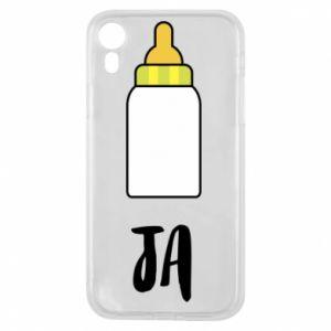Etui na iPhone XR Ja i butelkę mleka