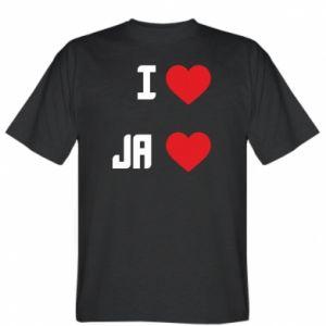 Koszulka męska Ja i serce