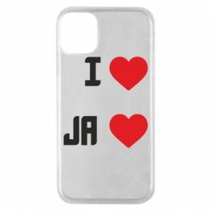 Etui na iPhone 11 Pro Ja i serce