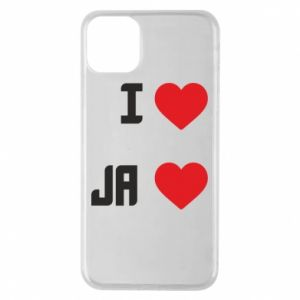 iPhone 11 Pro Max Case I and the heart