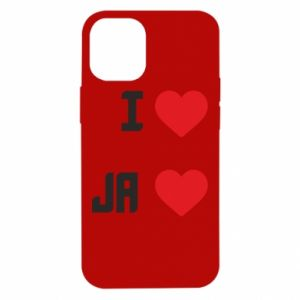 Etui na iPhone 12 Mini Ja i serce