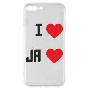 Etui na iPhone 8 Plus Ja i serce