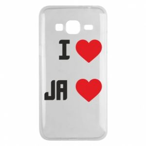 Etui na Samsung J3 2016 Ja i serce