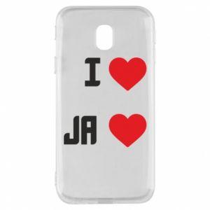 Etui na Samsung J3 2017 Ja i serce