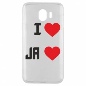 Etui na Samsung J4 Ja i serce