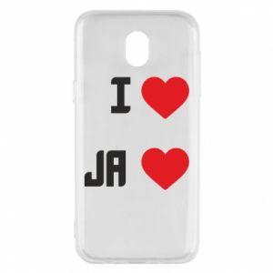 Etui na Samsung J5 2017 Ja i serce