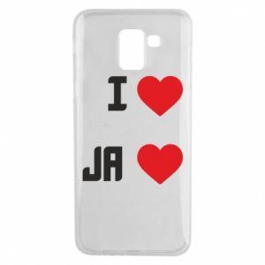 Etui na Samsung J6 Ja i serce