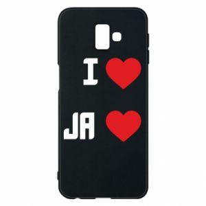 Etui na Samsung J6 Plus 2018 Ja i serce