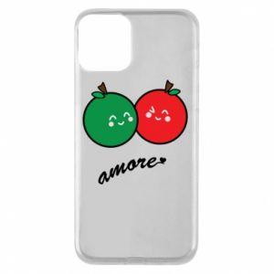 Etui na iPhone 11 Jabłka w miłości