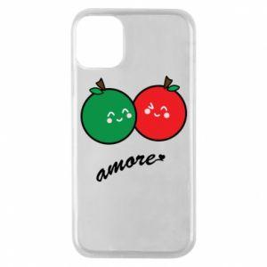 Etui na iPhone 11 Pro Jabłka w miłości