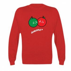 Bluza dziecięca Jabłka w miłości