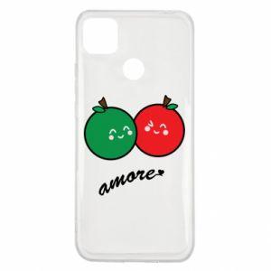 Etui na Xiaomi Redmi 9c Jabłka w miłości