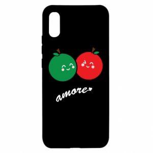 Etui na Xiaomi Redmi 9a Jabłka w miłości