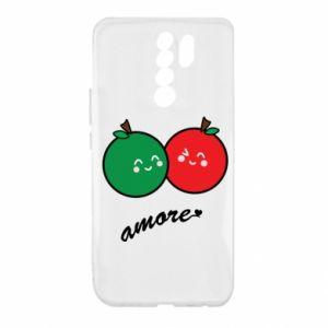 Etui na Xiaomi Redmi 9 Jabłka w miłości