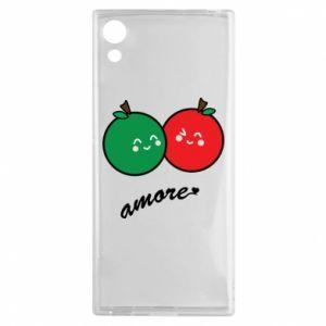 Etui na Sony Xperia XA1 Jabłka w miłości
