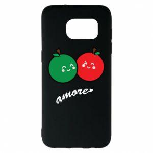 Etui na Samsung S7 EDGE Jabłka w miłości