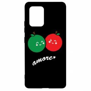 Etui na Samsung S10 Lite Jabłka w miłości