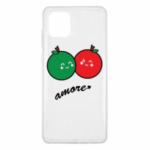 Etui na Samsung Note 10 Lite Jabłka w miłości