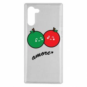 Etui na Samsung Note 10 Jabłka w miłości