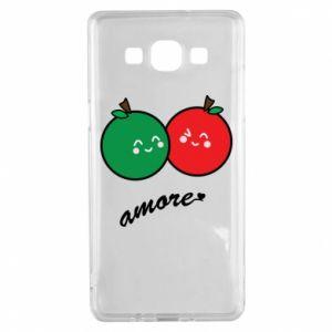 Etui na Samsung A5 2015 Jabłka w miłości