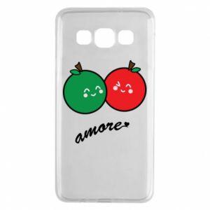 Etui na Samsung A3 2015 Jabłka w miłości