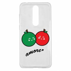 Etui na Nokia 5.1 Plus Jabłka w miłości