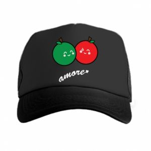 Trucker hat Apples in love - PrintSalon